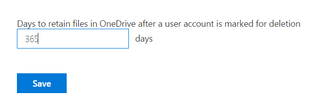 Preserve OneDrive Files after Users Leave the Organization