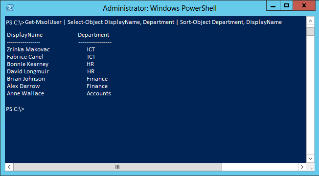 More Detailed Information PowerShell