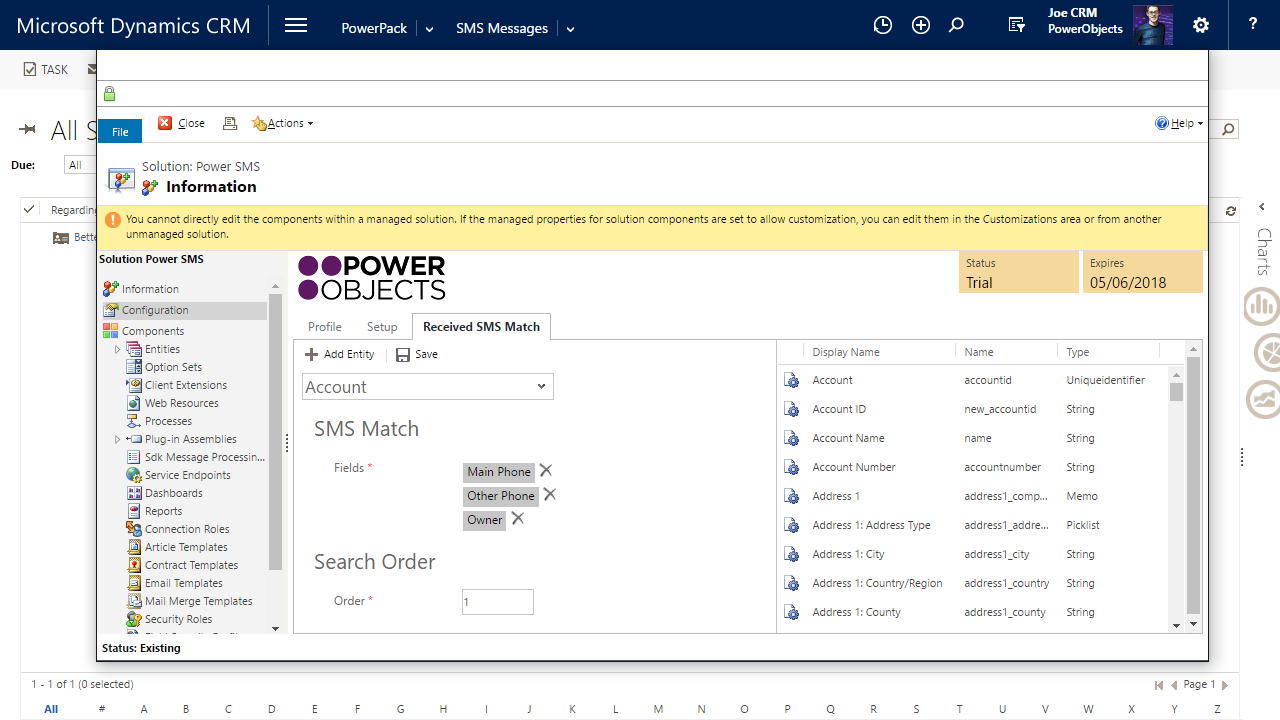 Dynamics 365 App - Power SMB by Power Object