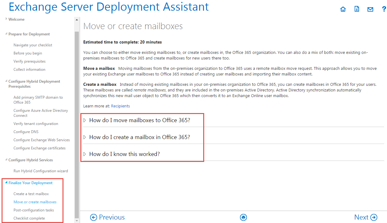 Finalize Your Deployment