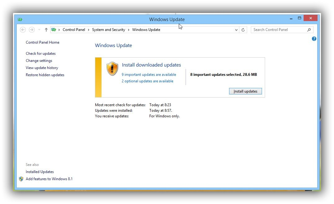 windows security patch