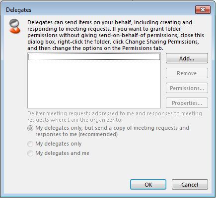 Delegate Access Add users