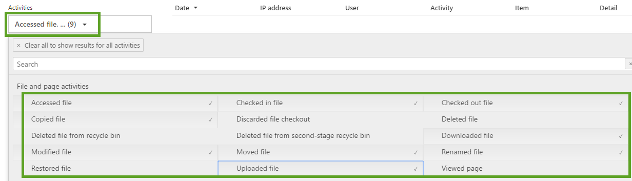 Executing Audit Log Searches-Step 3