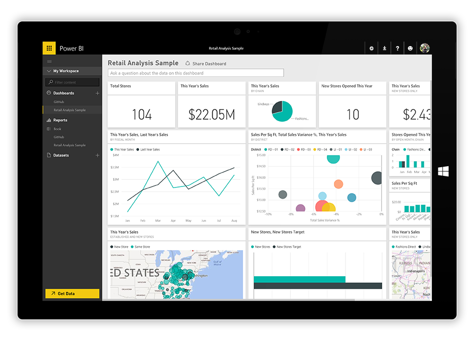 CRM Dashboard for business manager