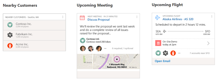 Plan your meeting with Dynamics 365