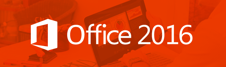 New features of Office 2016