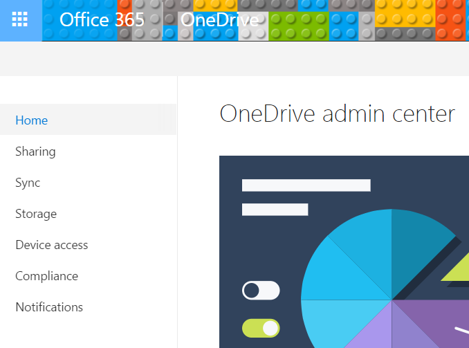 Access OneDrive Admin Center