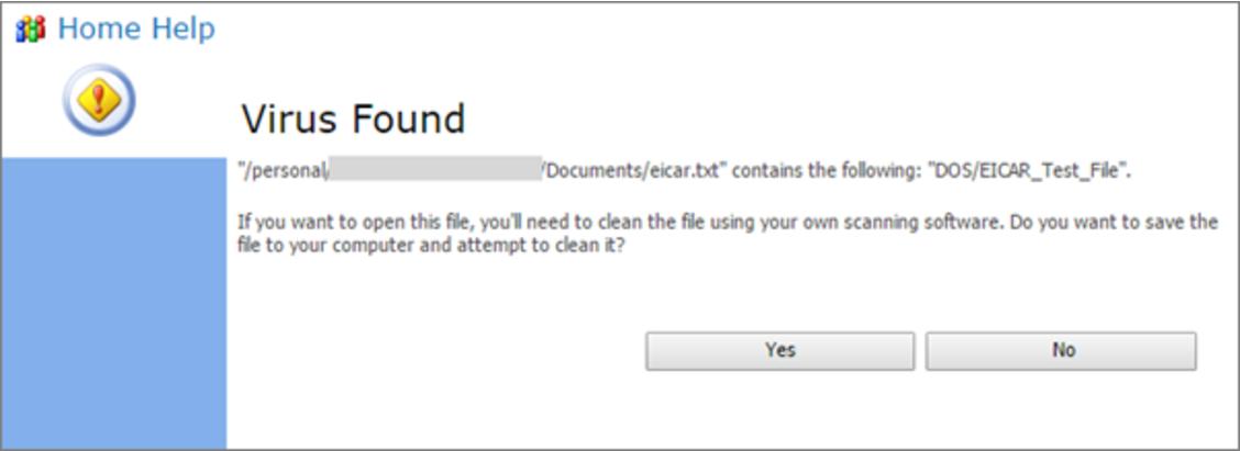 Virus Detection in SharePoint Online