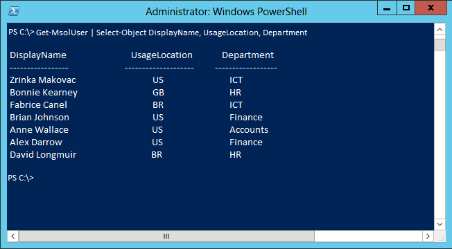 Detailed Information PowerShell