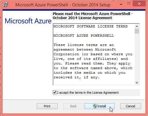 Azure Powershell v.0.8.8