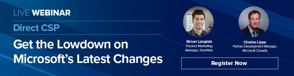 Microsoft Direct CSP Changes