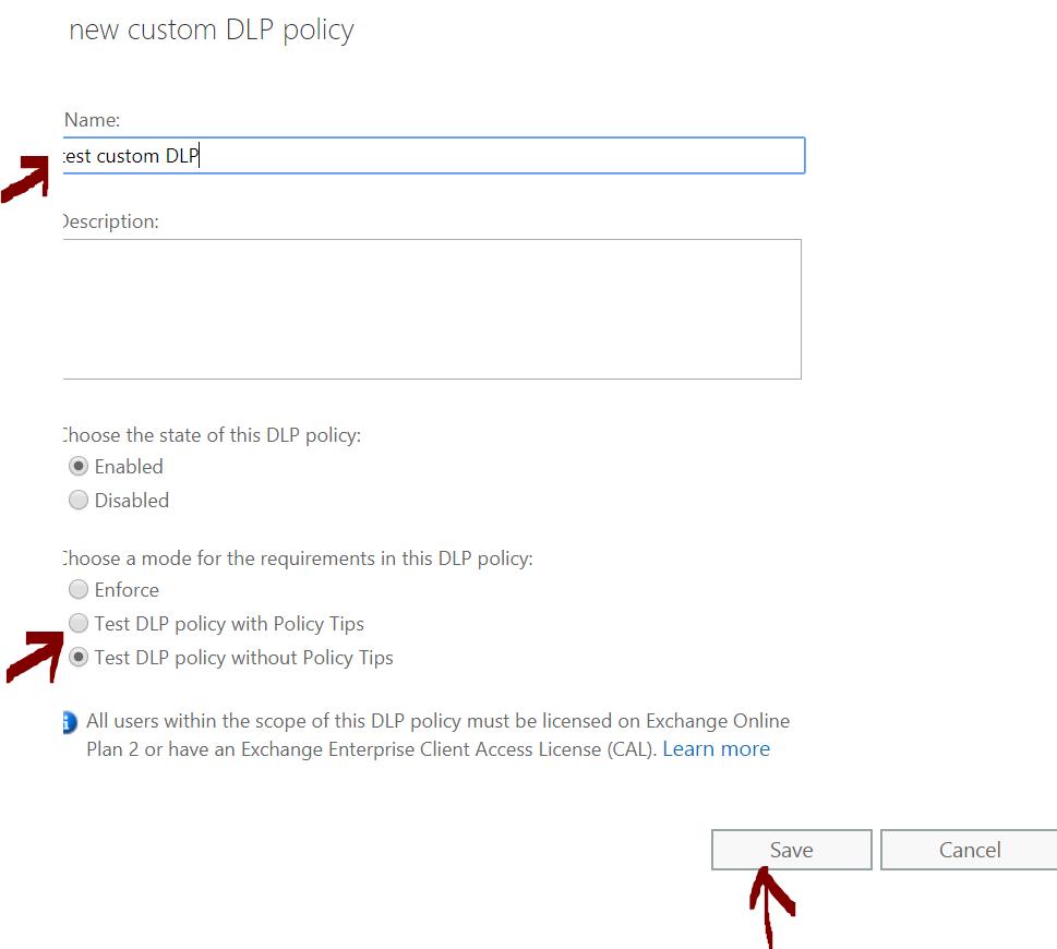 DLP policies 5