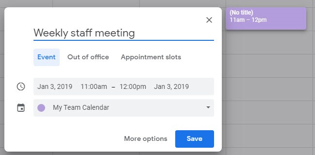 Getting the Most out of Google Calendar Online Calendars for Business 5