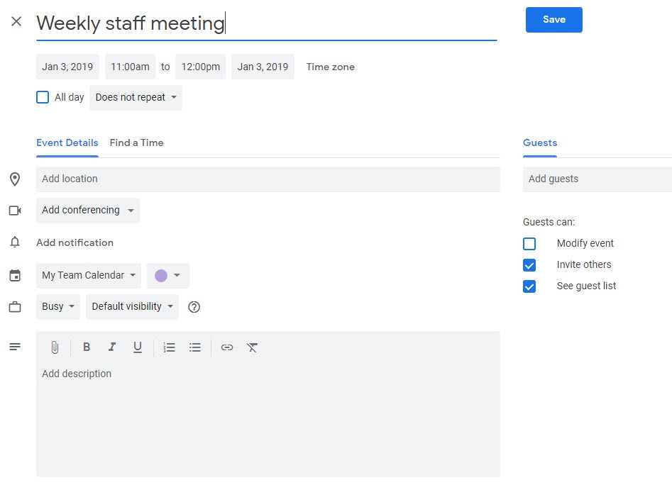 Getting the Most out of Google Calendar Online Calendars for Business 6