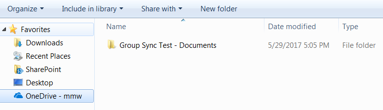 Initiate sync for OneDrive library-05