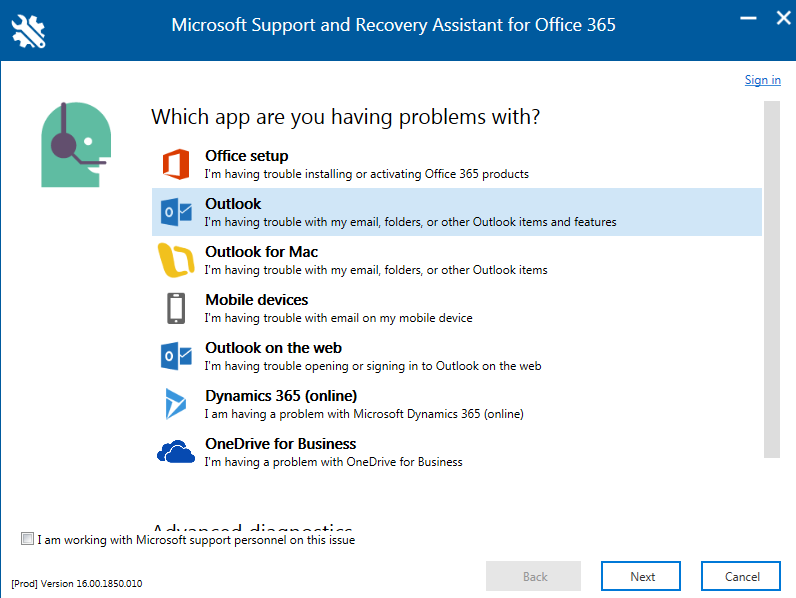 How to Use Microsoft Support and Recovery Assistant for Office 365