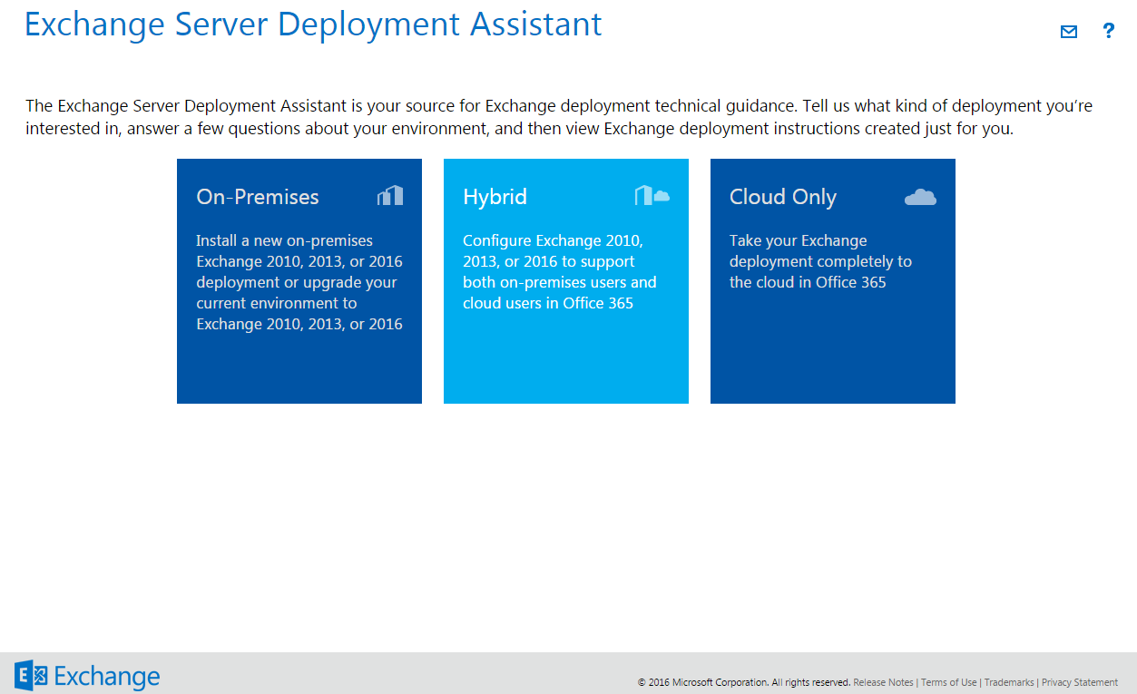 How to Use the Exchange Server Deployment Assistant for