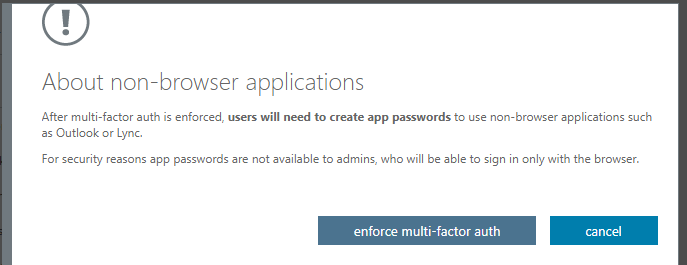 How to set up multi-factor authentication in Office 365 3