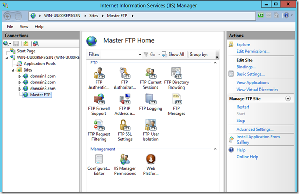 Using FTP User Isolation to secure your IIS 8 site | SherWeb