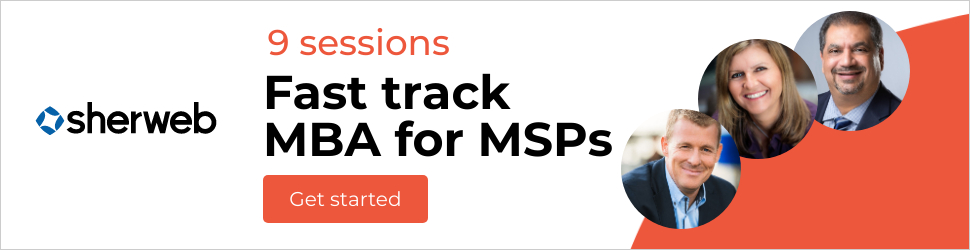 MBA for MSPs banner
