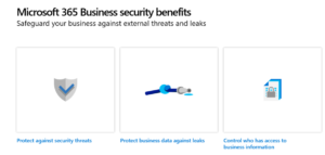 Microsoft 365 Business security benefits