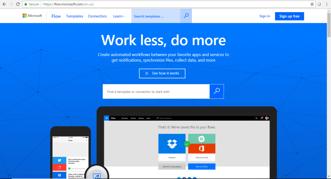 Microsoft Flow Tutorial Automating Your Work 1
