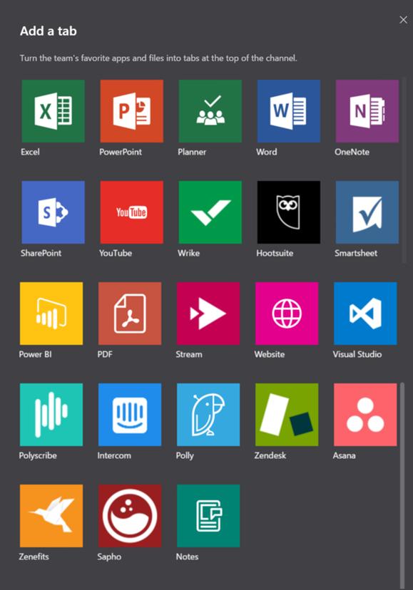 Microsoft Teams vs Slack-Tab