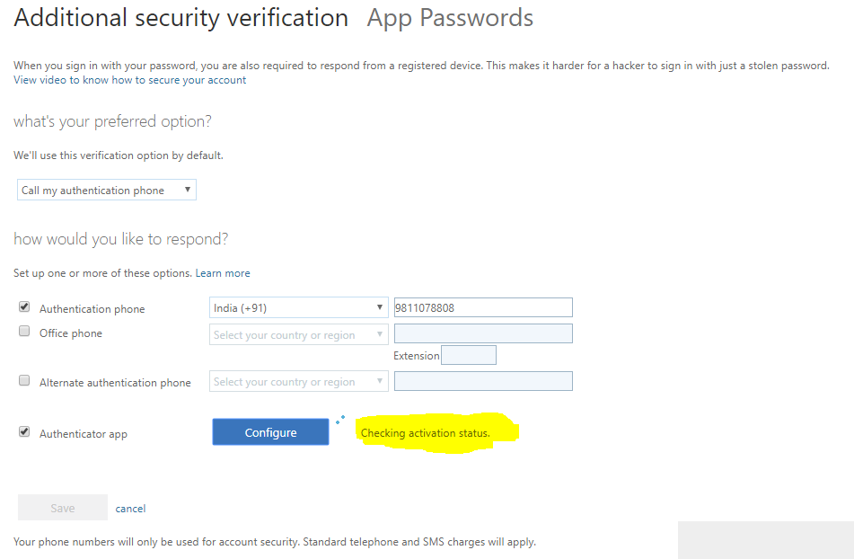 Multi-factor authentication Configuring the Authenticator app 3