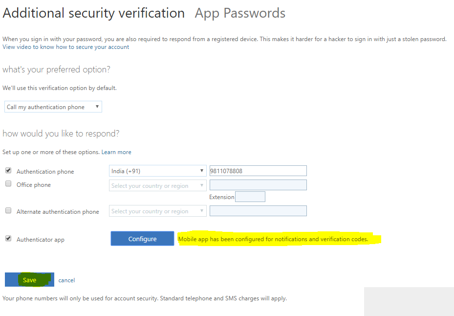 Multi-factor authentication Configuring the Authenticator app 4