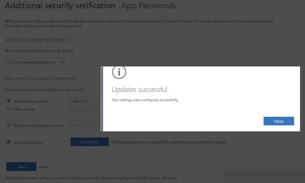 Multi-factor authentication Configuring the Authenticator app 5