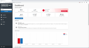 Office Protect dashboard alerts