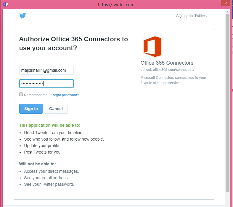 Office 365 Connectors for Microsoft Teams 6