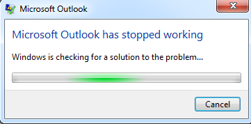 Not Working Message