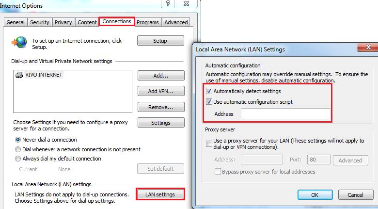 verify PAC configuration