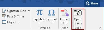 Office 365 Add-in: Outlook Pexels Image