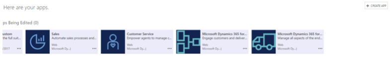 The Power of Apps in Dynamics 365