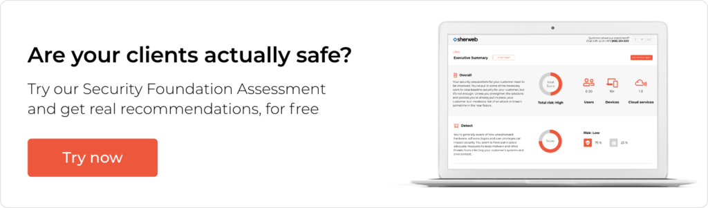 Security Foundation Assessment banner