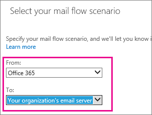 Office 365 to On-Premises