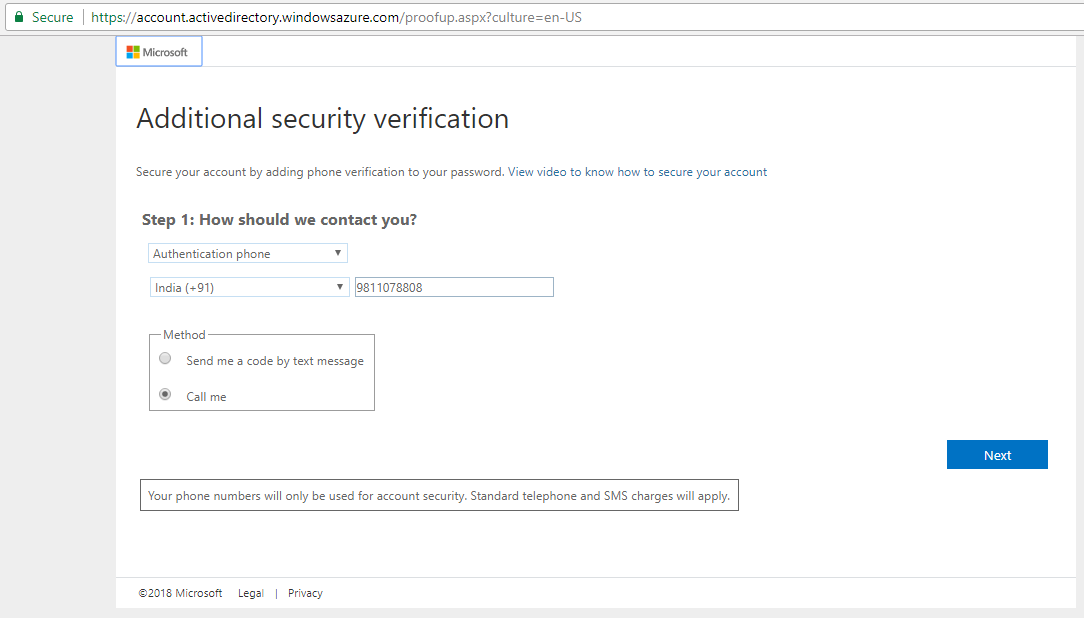 Signing in with multi-factor authentication 5