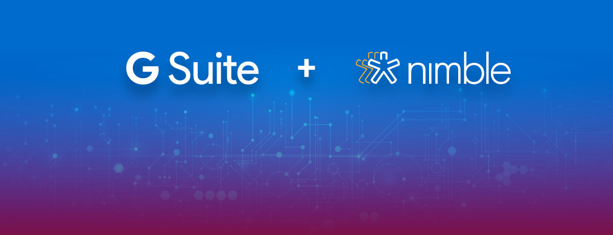 The 4 Best Ways Nimble Works With G Suite