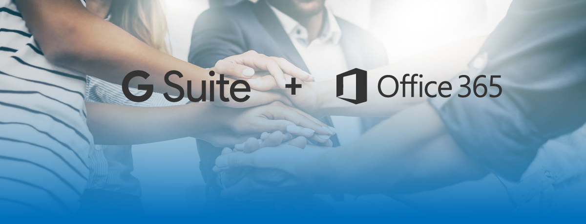 G Suite and Office 365 Now Work Together