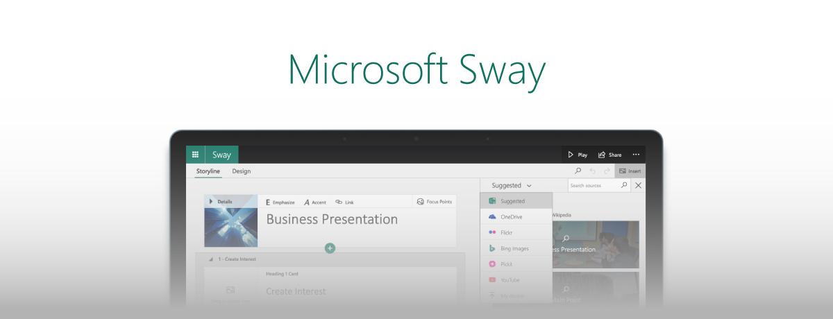 Microsoft Sway vs. PowerPoint