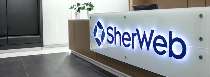 SherWeb's reception