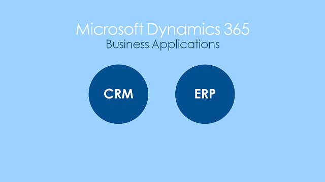 Dynamics 365 CRM & ERP