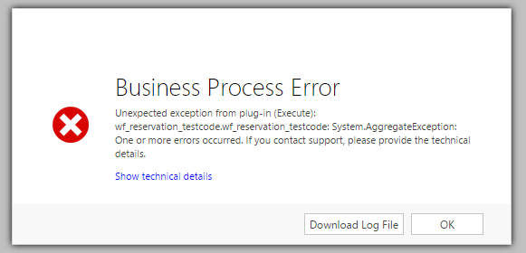 Dynamics 365 Error - Performance Issues