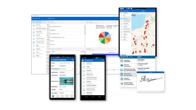 Dynamics 365 Field Service Connectivity and Mobility