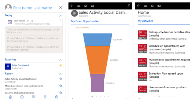 Dynamics 365 for Phone