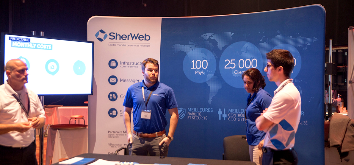 Discover SherWeb's SharePoint Private Cloud at the SharePoint Summit 2014