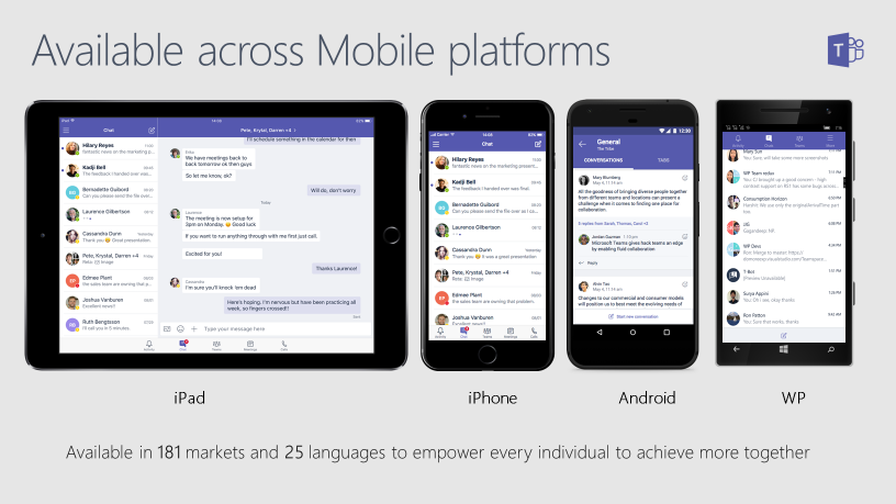 Microsoft Teams Mobile App Overview | SherWeb