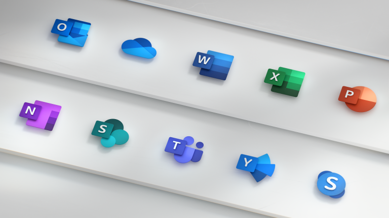 new microsoft icons redesign